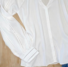 Load image into Gallery viewer, Ecru Wright Long Sleeve Blouse