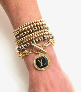 Shiver and Duke Gold Filled Designer Bracelet