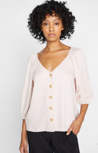 Sanctuary Modern Button Front Top