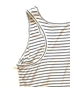 Fifteen Twenty Stripe Racer back Tank