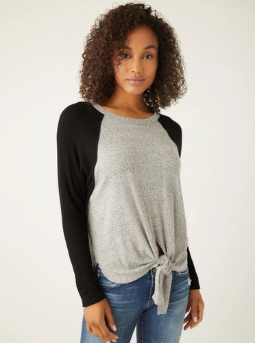 Fifteen Twenty Contrast Top with front top