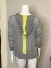 Load image into Gallery viewer, Autumn Cashmere Tissue weight Hoodie w/ Contrast stripe