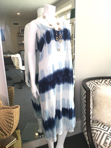 M. Stars Royce Midi Tie Dye Dress