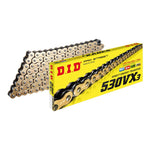 DID 530VX3 X-RING CHAIN GOLD