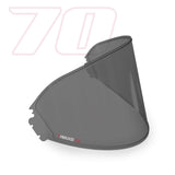 Pinlock 70 Dark Smoke Insert for HJ05,HJ07,HJ09,HJ17 visors