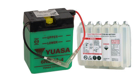 (sample image)-Yuasa 6N2-2A-4 battery  with acid pack
