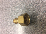 BRASS HOSE TAIL 13MM