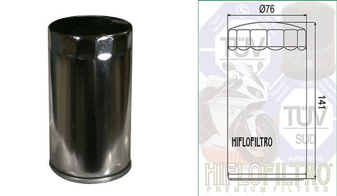 HF173C - (Oil Filter) - Available in chrome finish