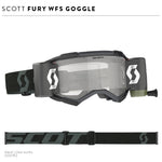 Fury WFS Goggle Black Clear Works Lens