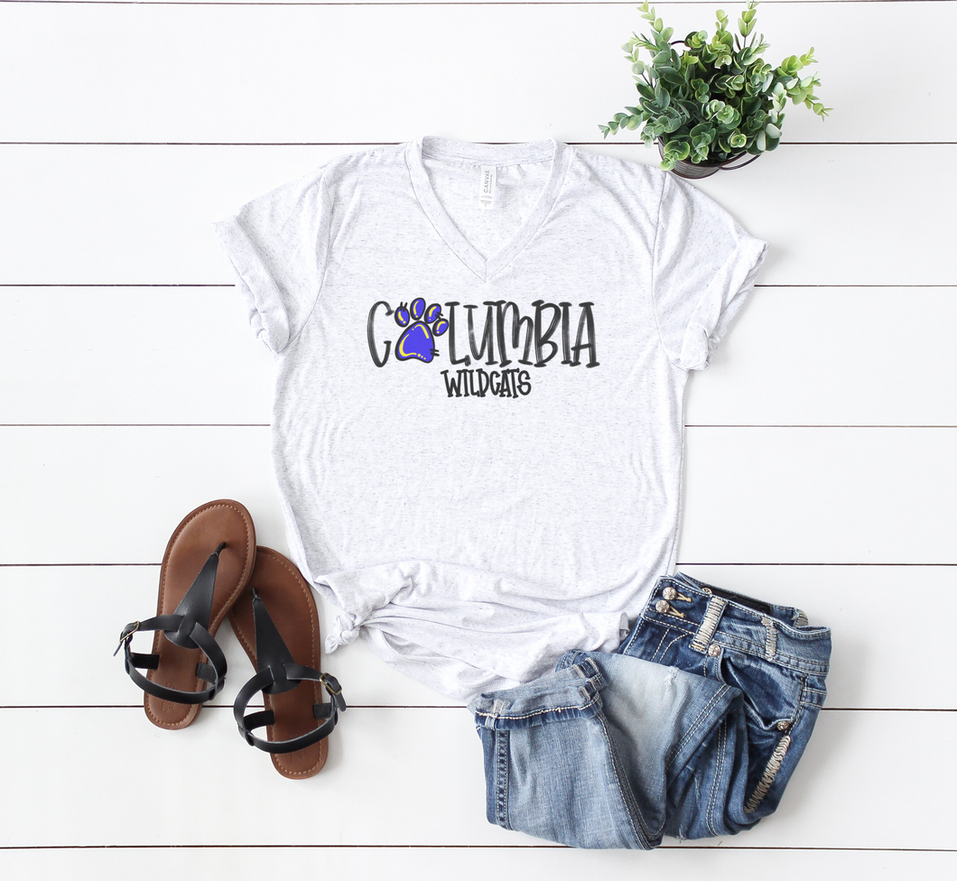 Columbia Wildcats Spirit Tee