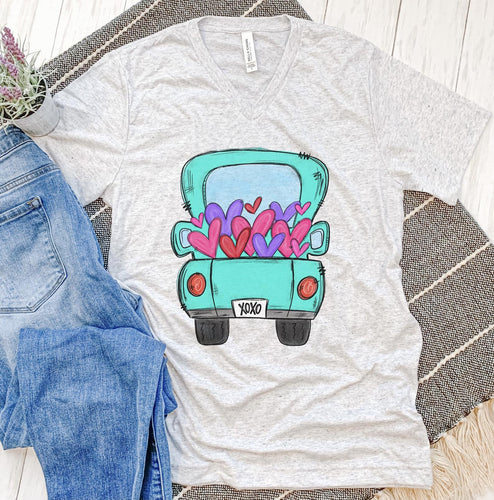 Truck Full Of Hearts Tee