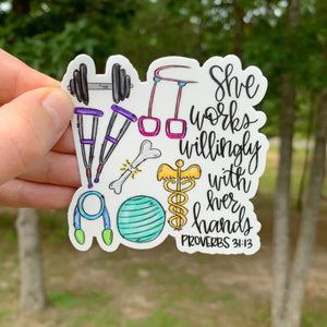 Physical/Occupational Therapist Sticker