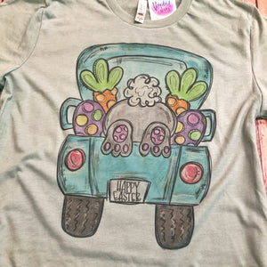 Easter Truck Tee