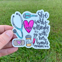 Nurse Proverbs Sticker