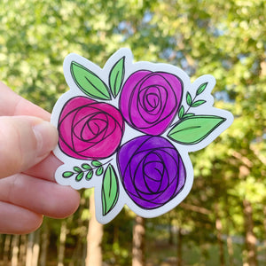 Flower Bundle Sticker
