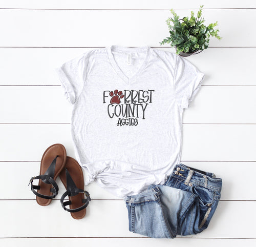 Forrest County Aggies Spirit Tee