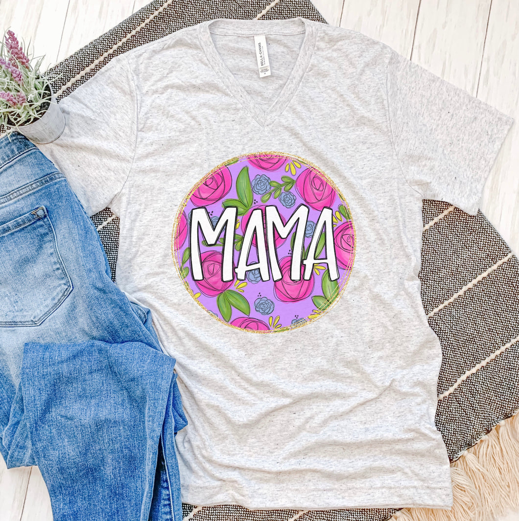 Floral Mama Tee