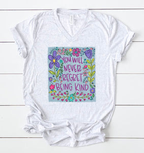 Be Kind Floral Tee