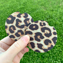 Leopard Car Coasters