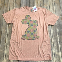 Floral Easter Bunny Tee