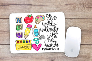 Day Care Teacher Mouse Pad