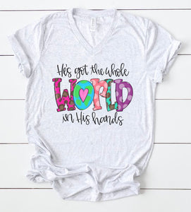He's Got The Whole World In His Hands Tee