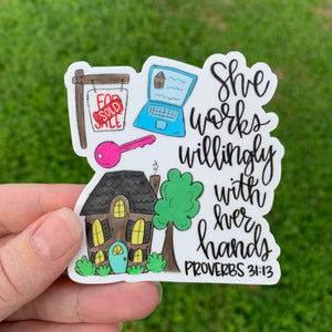 Realtor Sticker
