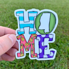 Mississippi Home Green Sticker