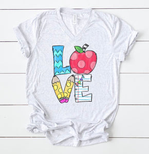 Love Teacher Tee