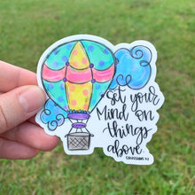 Hot Air Balloon Sticker