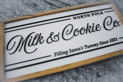 Milk and Cookie Co Sign