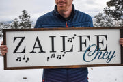 Customizable Name Sign