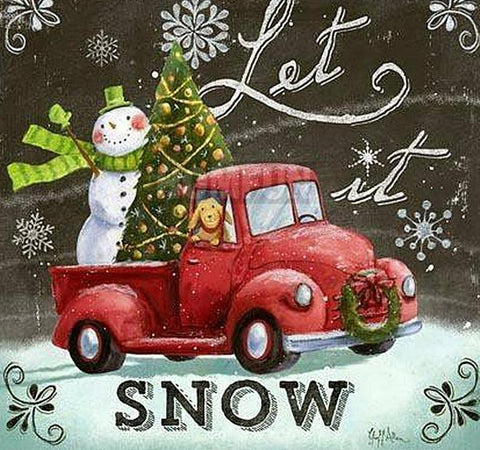 "Tableau ""let is snow"""