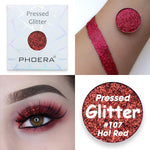 PHOERA Pressed Powder Glitter Eyeshadow