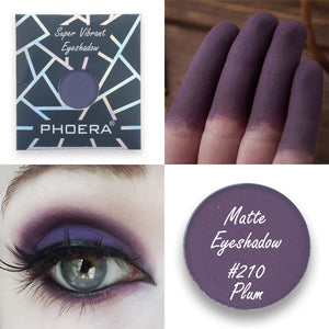 PHOERA Pressed Powder Matte Eyeshadow