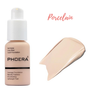 Open image in slideshow, PHOERA Liquid Matte Foundation
