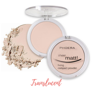 Open image in slideshow, PHOERA Compact Foundation Pressed Powder