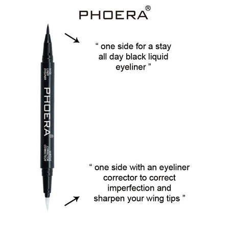 PHOERA Eyeliner and Corrector Pen With 2 Sides