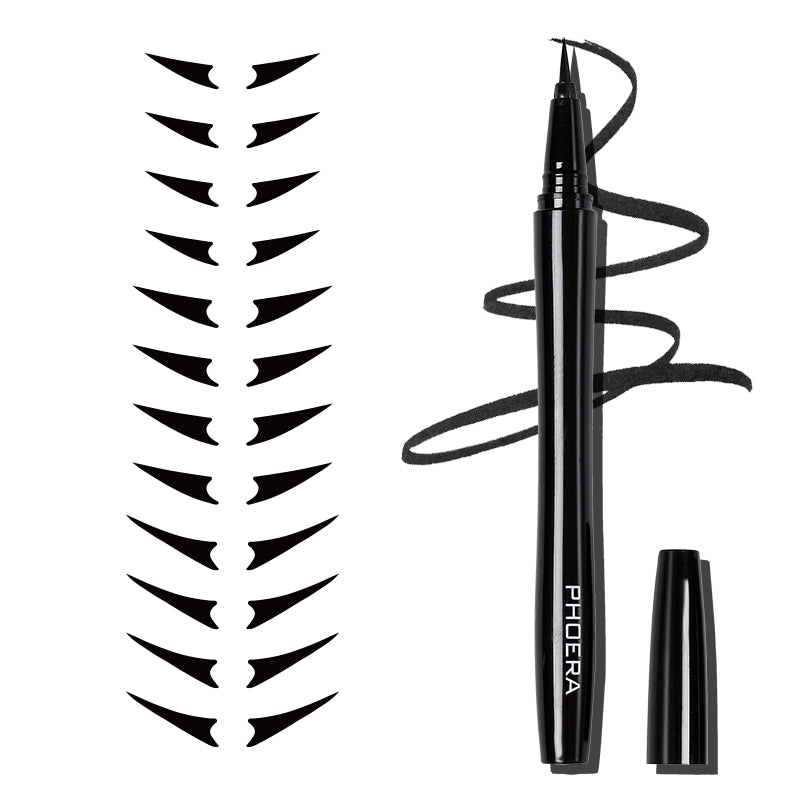 PHOERA Precise Liquid Eyeliner and Wingtip Sticker Kit