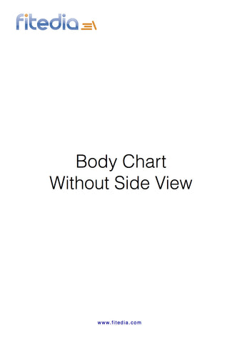 Bodychart Without Side View