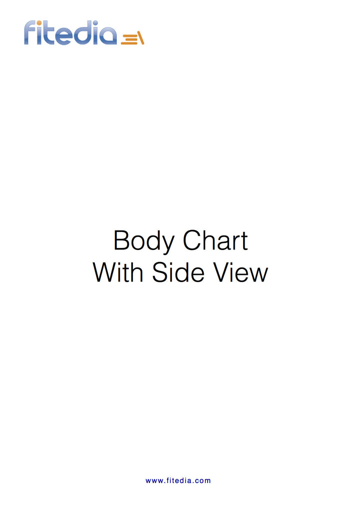 Bodychart With Side View