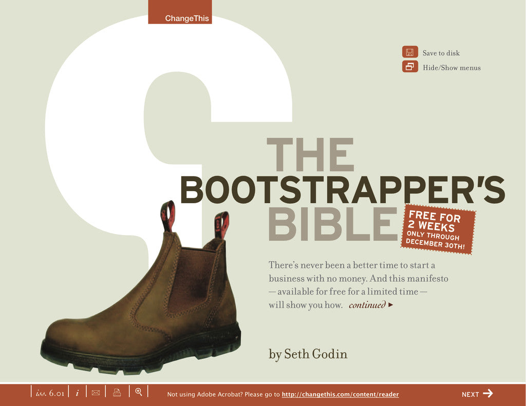 The Bootstrapper's Bible eBook