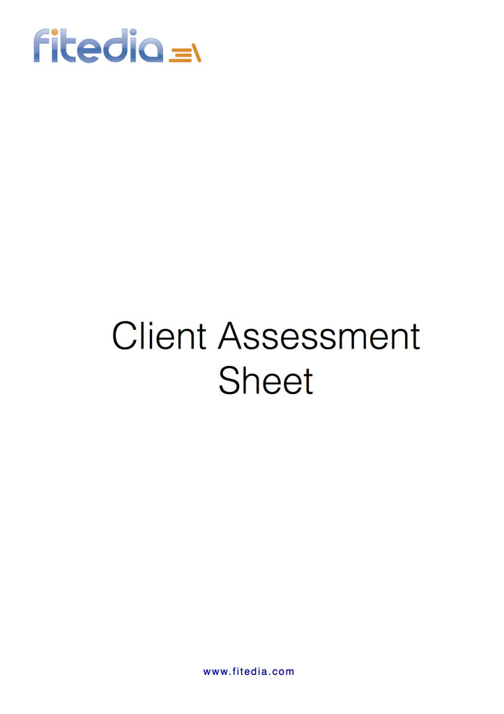 Client Assessment Sheet