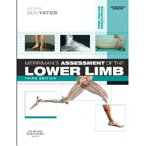 Merriman's Assessment of the Lower Limb, 3rd Edition ISBN: 9780702052477