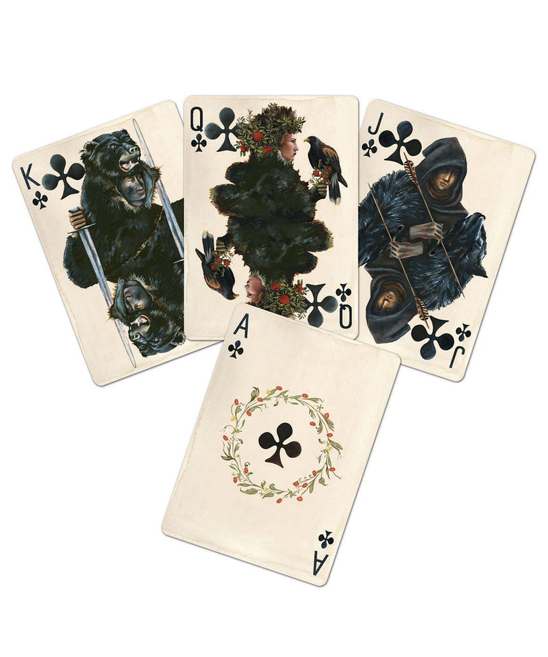 Pagan Playing Card Deck / Ivory