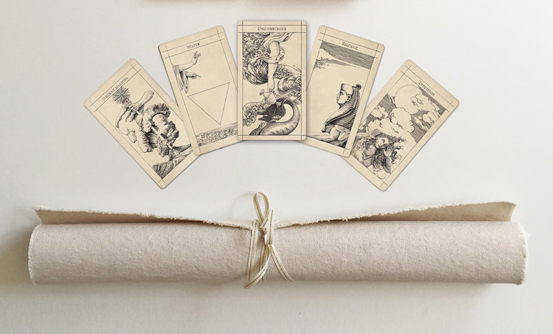 Mica Mineral Tarot Cloth