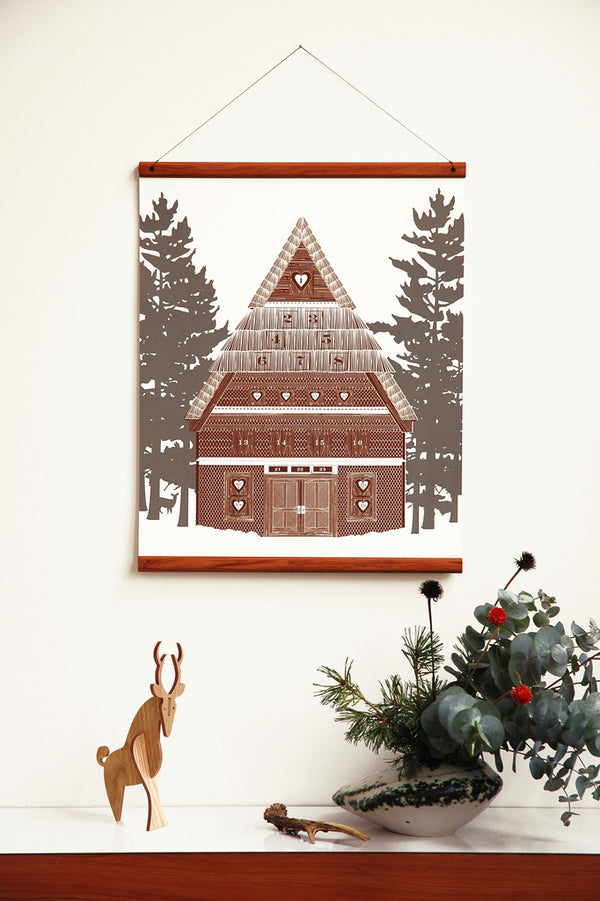 Alpine Winter Chalet Advent Calendar