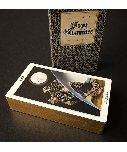 First Edition Pagan Otherworlds Tarot / 24KT Gilded Limited Edition