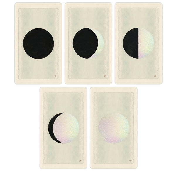 Limited Edition Holographic Luna Cards