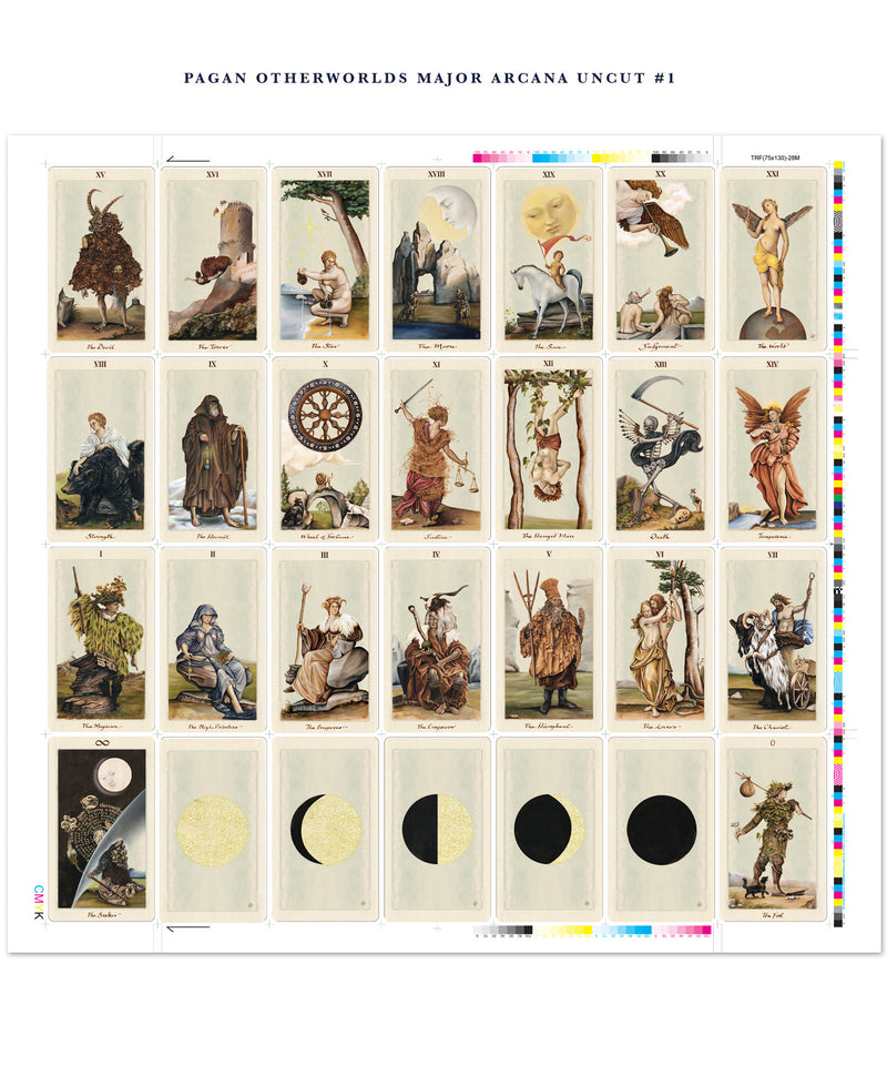 Limited Edition Pagan Otherworlds Tarot Uncut Set